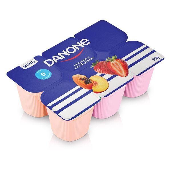 imagem de Iogurte Danone Polpa Mix de Frutas 510g