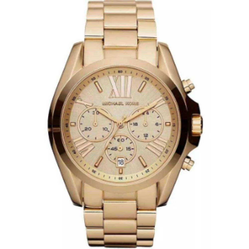 imagem de Relógio Michael Clássico Dourado MK56054DN