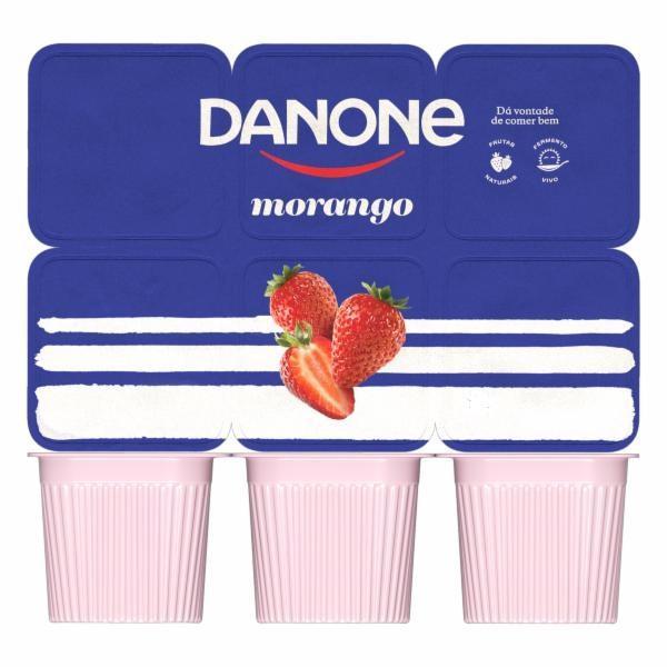 imagem de Iogurte Danone Polpa Morango 510g