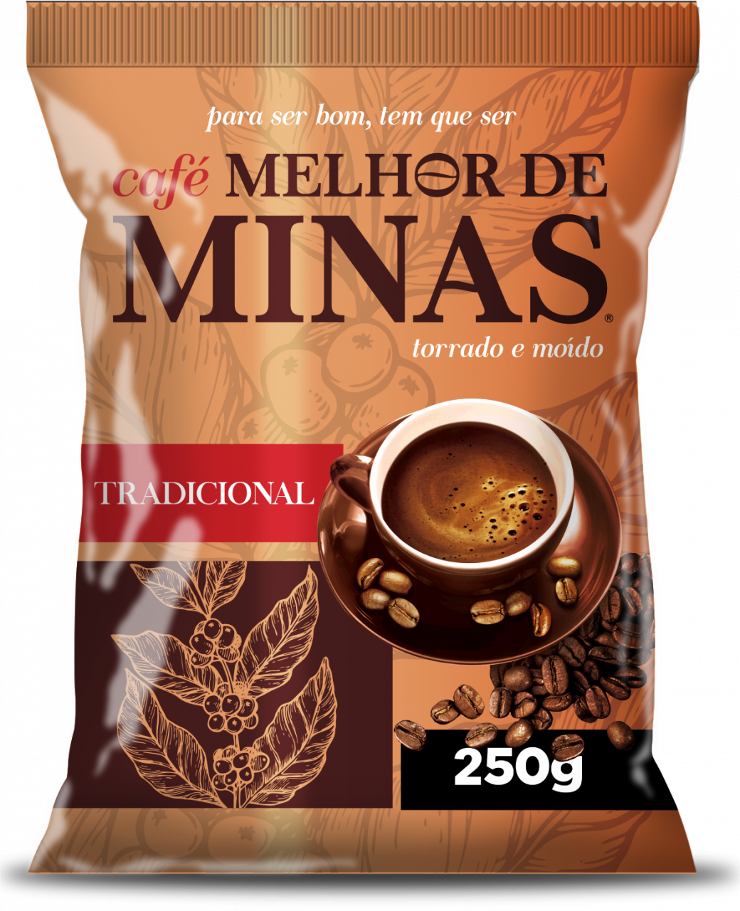 imagem de Café Melhor de Minas Tradicional 250g