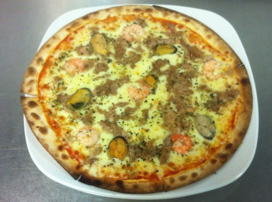 imagem de Pizza Grande - Frango Com Palmito