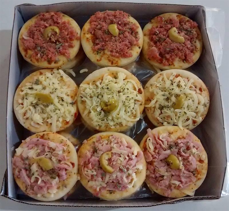 imagem de Mini Pizza - Calabresa