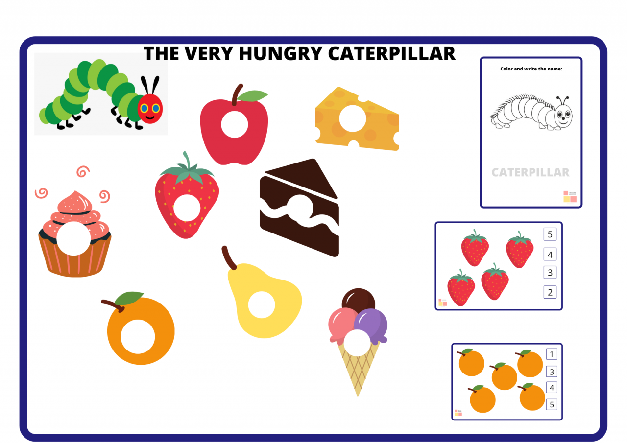 imagem de Kit The Very Hungry Caterpillar