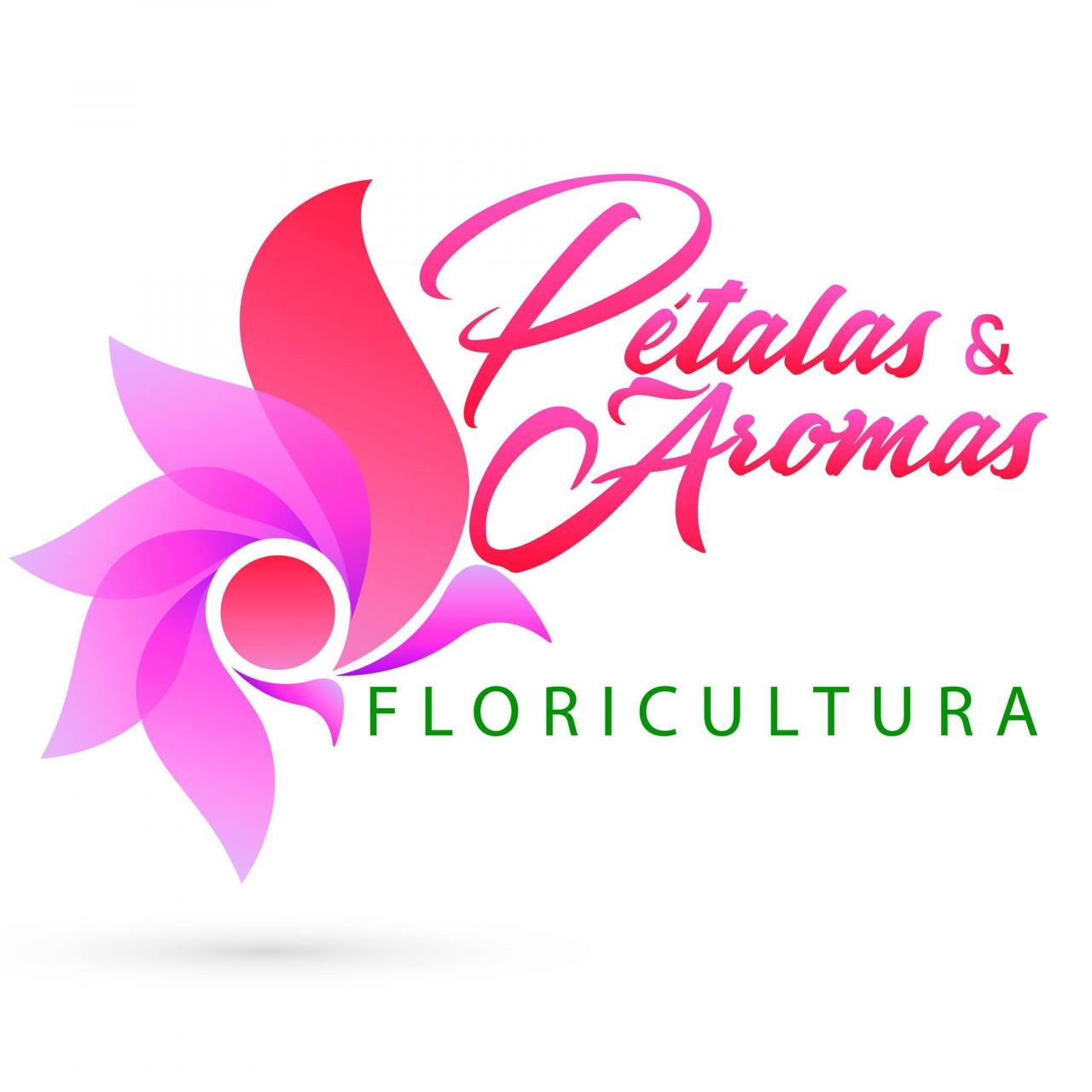 Floricultura pétalas e aromas